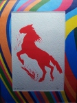 Red Horse-Albion print.