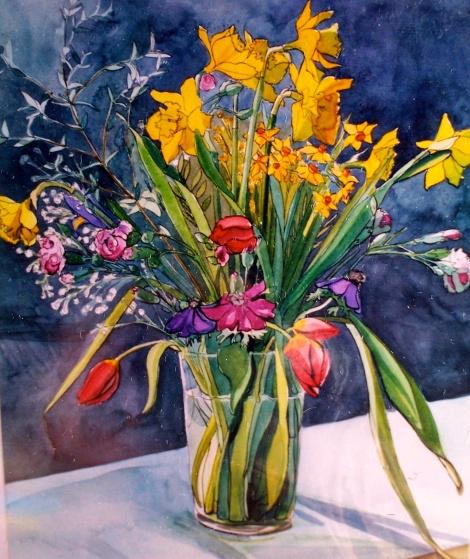 Skyramgate flowers.